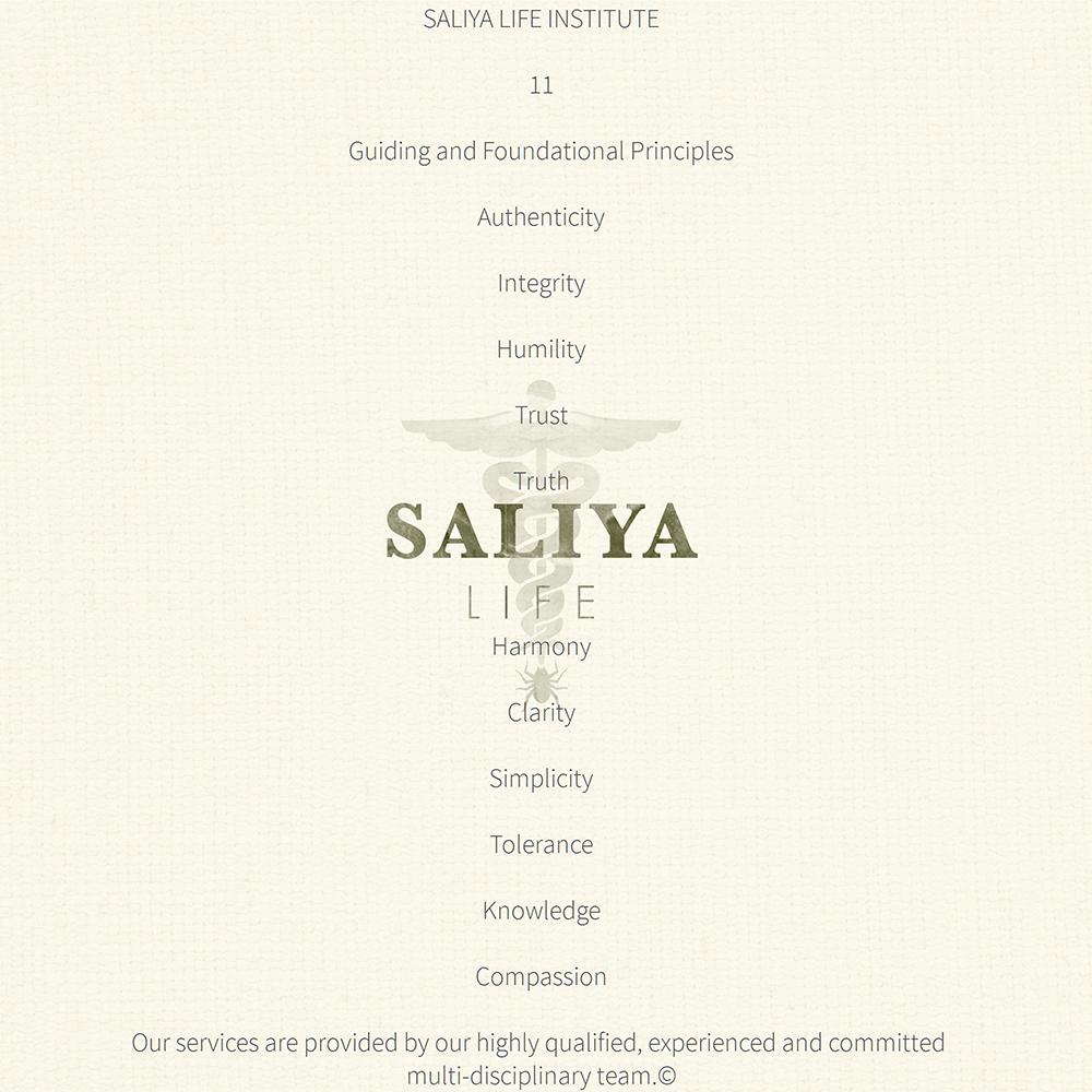 DISCOVER SALIYA LIFE